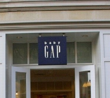 Entrance to Baby GAP