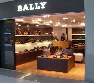 Entrance of BALLY Outlet Store