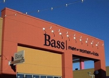 Outside Bass Outlet Store