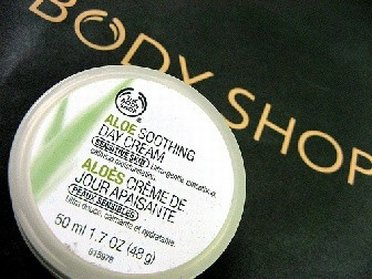 Soothing cream from Body Shop Outlet Store