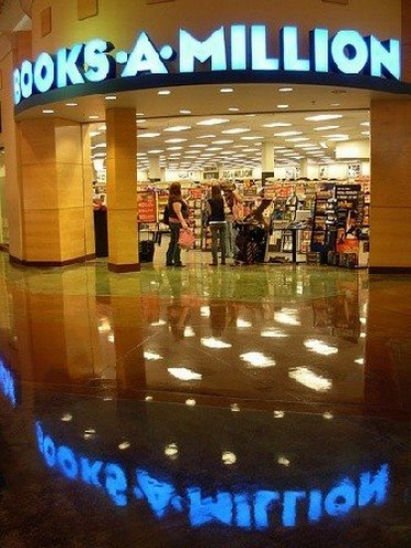 Entrance of Books A Million Outlet Store