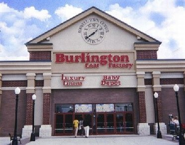 Entrance of Burlington Coat Factory Outl