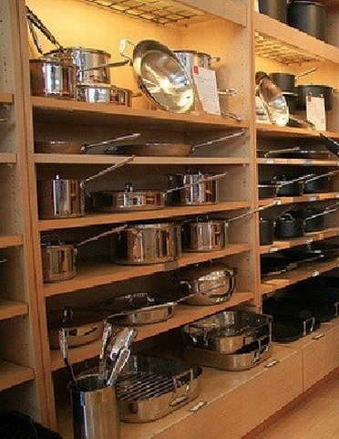 Cookware at Calphalon Outlet Store