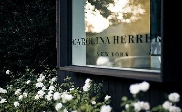 Window detail from Carolina Herrera Outlet Store