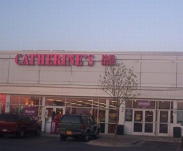 Facade of Catherines Plus Sizes Outlet Store