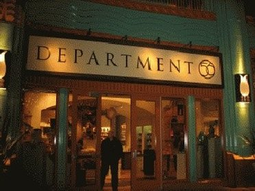 Entrance of Department 56 Outlet Store