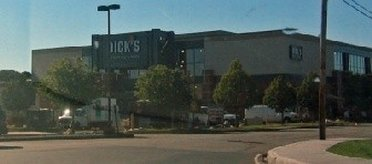 Facade of Dicks Sporting Goods Outlet Store