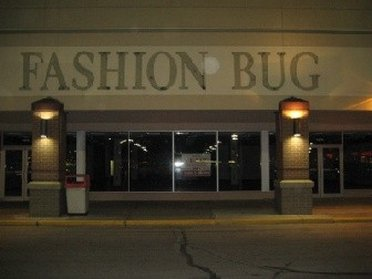 Outside Fashion Bug Outlet Store