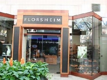 Entrance to Florsheim Outlet Store