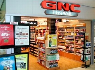 Entrance to GNC Outlet Store