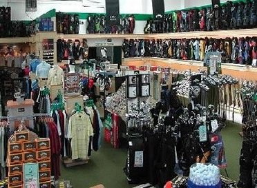 Interior of Galax Sea Golf Outlet Store
