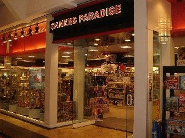 Entering the Gamers Paradise Outlet Store