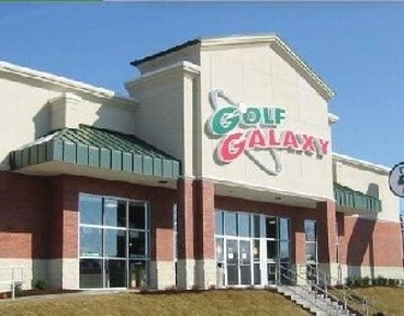 Outside Golf Galaxy Outlet Store