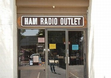 Entrance of Ham Radio Outlet