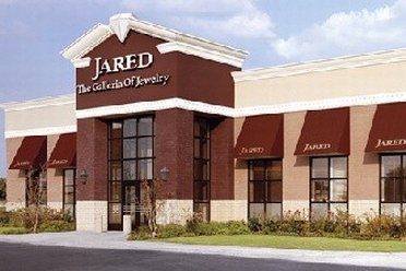 Facade of Jareds outlet store