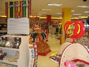 Sweets from Jelly Belly outlet store