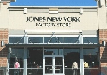 Outside Jones New York outlet store