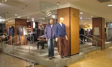 Mannequins at Joseph Abboud outlet store
