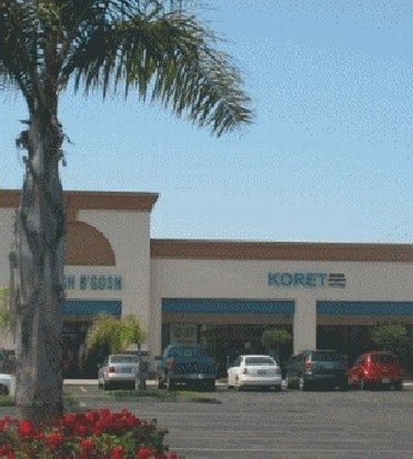 Parking lot by Koret outlet store