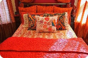 A nice bed set from Linens Warehouse