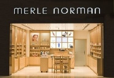 Inside view of Merle Norman