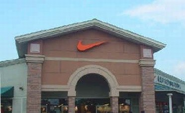 Outside a Nike Outlet Store