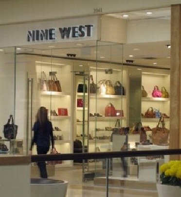 A Shoppingwindow at Nine West Outlet Store
