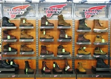 List of Red Wing Shoes Outlet Stores