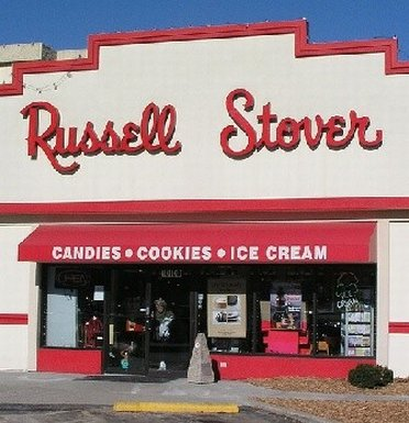 Sweets at Russel Stover outlet store