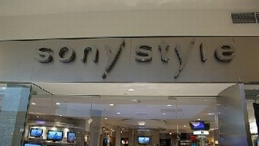Entering Sony Style outlet store