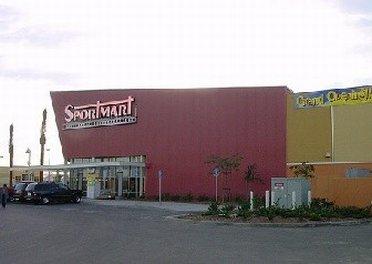 Outside Sportmart outlet store