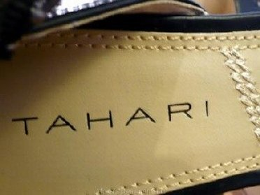 Exclusive shoes at Tahari outlet store