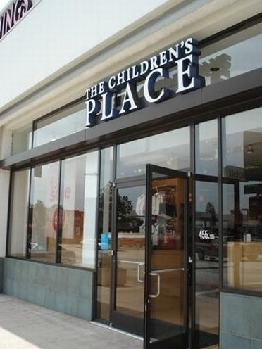 Entering The Childrens Palace outlet store