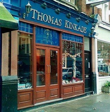 Facade of Thomas Kinkade outlet store