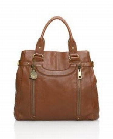 Beautiful leather bag from Via Spiga outlet store