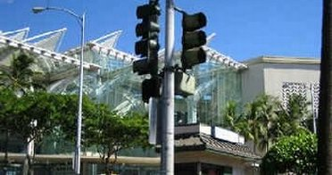 Ala Moana Mall Traffic Light