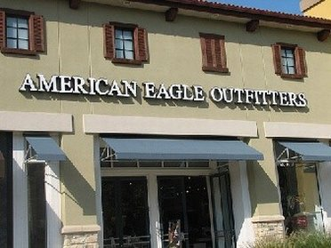 Outside American Eagle Outlet Stores