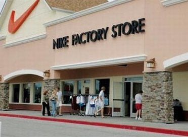 Nike Factory Store at the Birch Run Outlet Mall