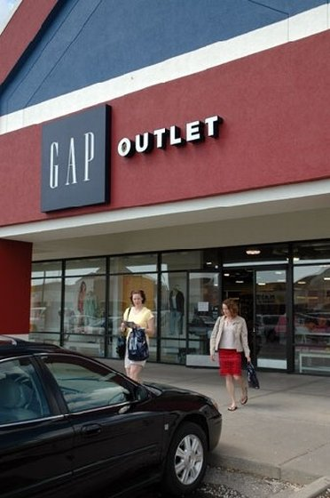 A Gap Outlet Store at the Birch Run Outlet Mall