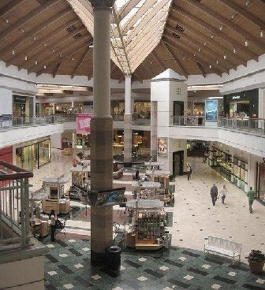 Inside Brea Mall