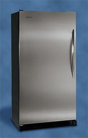 Grey refridgerator from Sears