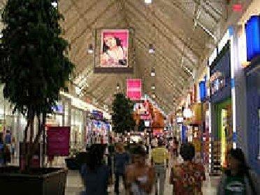 Inside Coquitlam Center Mall