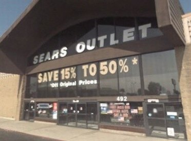 Corona California Sears Outlet Store Review