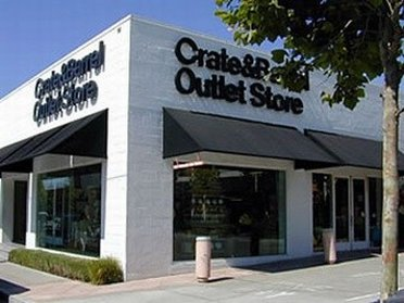 review of crate and barrel outlet store in kittery maine. Black Bedroom Furniture Sets. Home Design Ideas