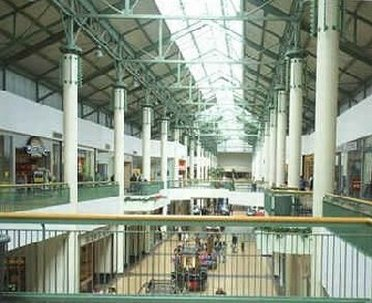 Inside Danbury Mall