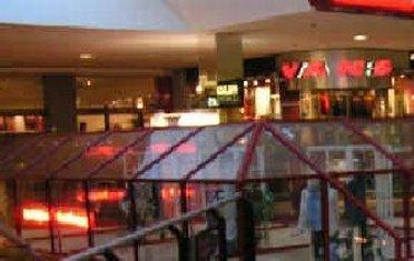 Inside Del Amo Mall