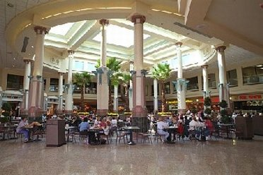 The Food Court inside Eastland Mall