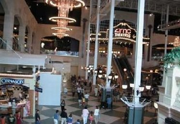 Inside Easton Mall