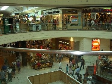 Inside Garden State Plaza Mall