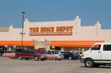 Outside view of a Home Depot Store